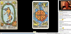 Janine Worthington Teaching Tarot Diploma