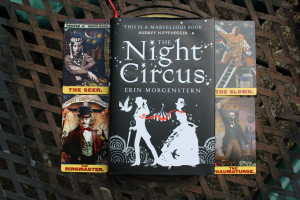 Night Circus by Erin Morgenstern with Zirkus Magi Tarot