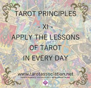 Tarot Principles 11
