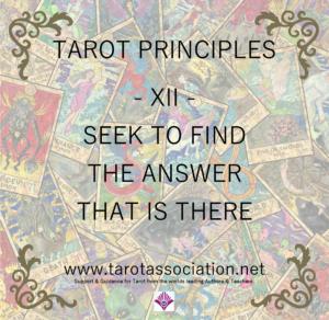 Tarot Principles 12