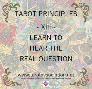 Tarot Principles 13