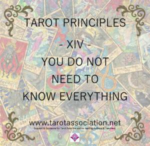 Tarot Principles 14