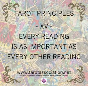 Tarot Principles 15