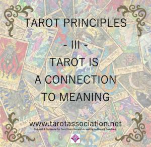 Tarot Principles 3