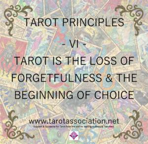 Tarot Principles 6