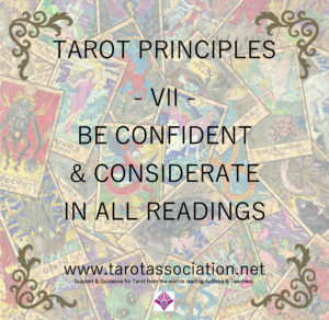 Tarot Principles 7