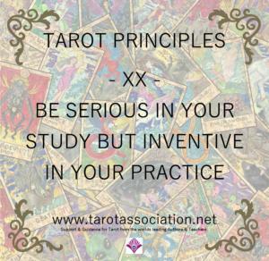 Tarot Principles 20