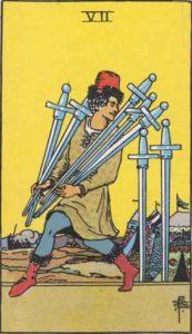 7 of Swords